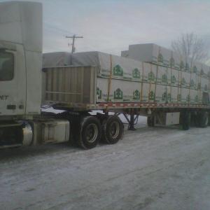 Quad lumber loads