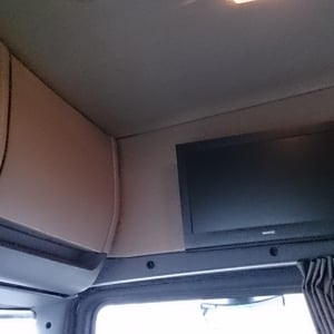 Scania Cab - above passenger seat