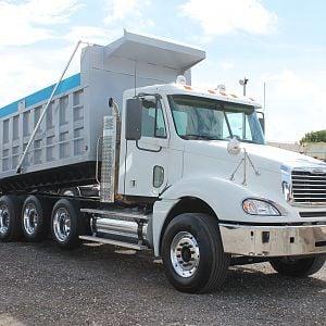 2008 Freightliner Columbia Quad Axle Dump Truck